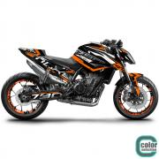 KTM DUKE 790 18- Dekor Stickerkit EVO