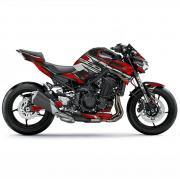 "Kawasaki Z900 ""ZTYLE - Metalic Red"" Bj 2020-  Motorcycle Dekor Graphics"
