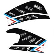 Swingarm Graphics BMW S 1000 RR ab 2009 Cyan/White/Red